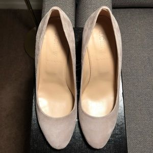 J. CREW Suede Wedges - NEW